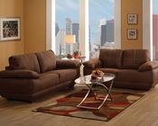 Contemporary Style Sofa Set Memphis by Acme Furniture AC51725SET