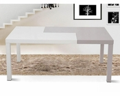 Contemporary Style Two-Tone Dining Table 44D852DT