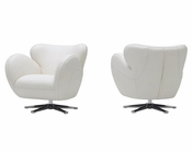 Contemporary Swivel Lounge Chair 44O569