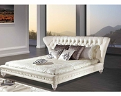 Contemporary Upholstered Bed 33B602