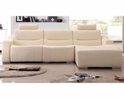 Contemporaty Style Sectional Sofa w/ Recliner 33LS261