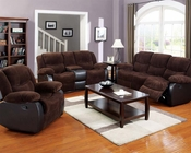 Corduroy Fabric Sofa Set Bernal by Acme Furniture AC50465SET