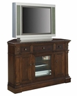 Corner Entertainment Console in Walnut Burl by Hekman HE-81644