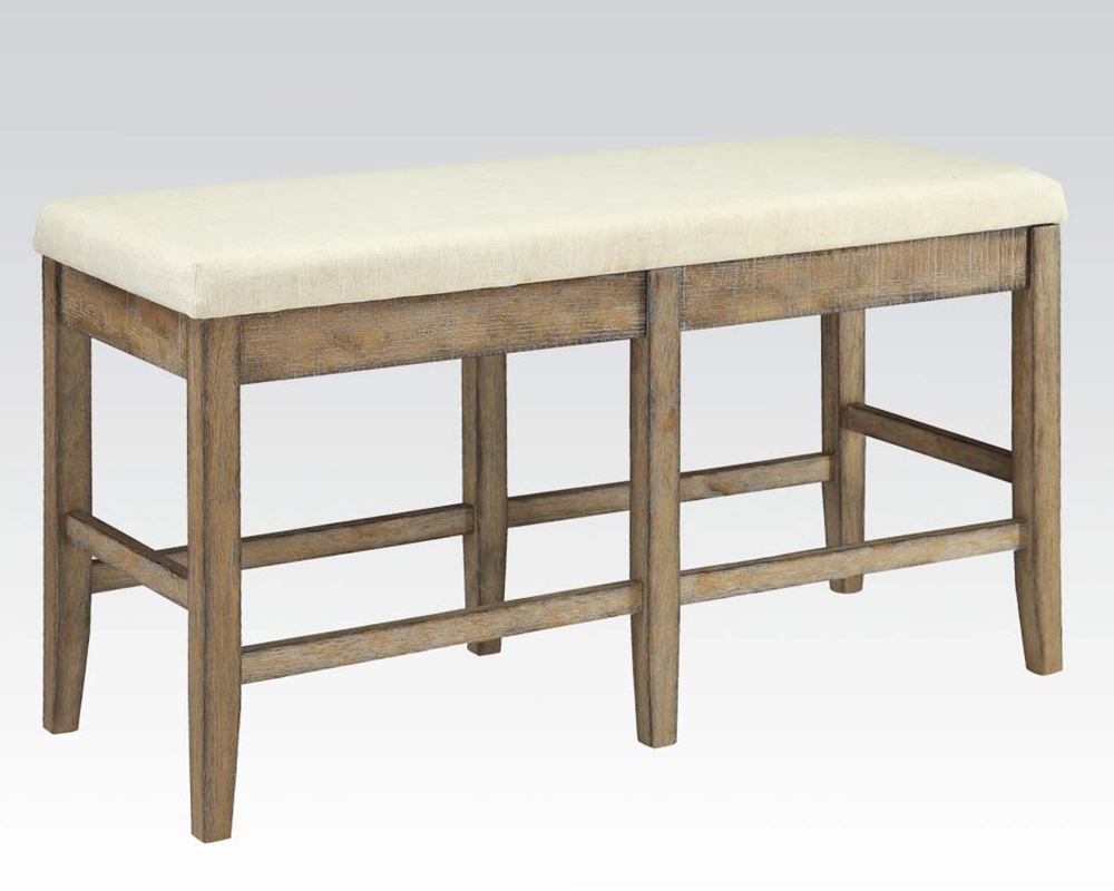 Counter Height Bench : Counter Height Bench Claudia by Acme Furniture AC71723