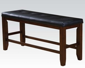 Counter Height Bench Urbana Cherry by Acme AC00679