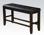 Counter Height Bench Urbana Espresso by Acme AC74634