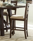 Counter Height Chair Denton Mills by Homelegance EL-5025-24 (Set of 2)