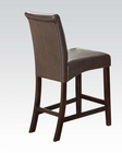 Counter Height Chair in Espresso Ripley by Acme AC71374 (Set of 2)