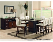 Counter Height Dining Set Elmhurst by Homelegance EL-1410-36-SET