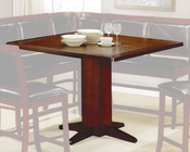Counter Height Dining Table in Dark Brown - Coaster CO-101791
