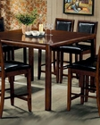 Counter Height Dining Table in Walnut  - Coaster CO-101838