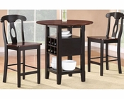 Counter Height Set Atwood by Homelegance EL-2505BK-36-SET
