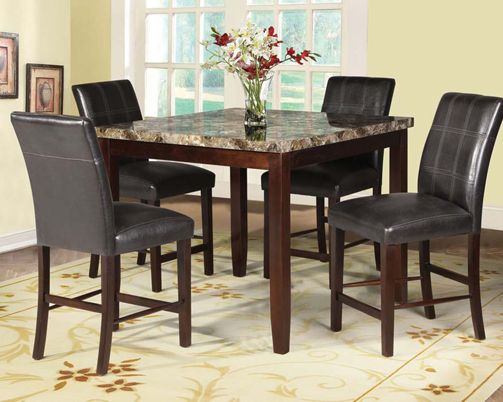 Dining Room Set Counter Height Pub Height Dining Chairs Carpenter Counter Furniture Pc Counter