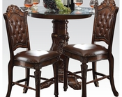Counter Height Set Vendome by Acme Furniture AC62030SET