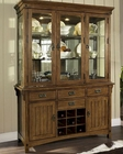 Craftsman Dining Buffet w/ Hutch by Somerton SO-417-72-71