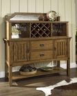 Craftsman Dining Server by Somerton Dwelling SO-417-73