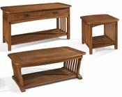 Craftsman Occasional Table Set by Somerton Dwelling SO-417-04SET