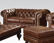 Dark Brown Loveseat Shantoria by Acme Furniture AC51316