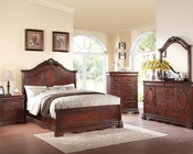 Dark Cherry Bedroom Set Estrella by Acme Furniture AC20730SET