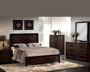 Dark Merlot Bedroom Set Ishaan by Acme Furniture AC21490SET