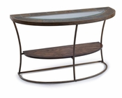 Demilune Sofa Table Desoto by Magnussen MG-T3048-75