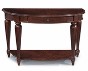 Demilune Sofa Table Heritage Point by Magnussen MG-T2708-75