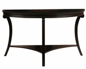 Demilune Sofa Table Mystique by Magnussen MG-T2920-75
