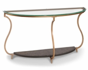 Demilune Sofa Table Rachel by Magnussen MG-T2533-75