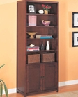 Dickson Combination Bookcase with Shelves and Cabinet CO800363