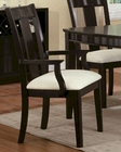 Dining Arm Chair in Chocolate CO-101923 (Set of 2)