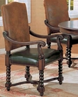 Dining Arm Chair in Dark Cherry CO-180032 (Set of 2)