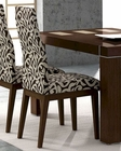 Dining Chair Inez in Cappuccino European Design 33D133 (Set of 2)