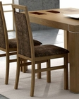 Dining Chair Inez in Walnut European Design Spain 33D143 (Set of 2)
