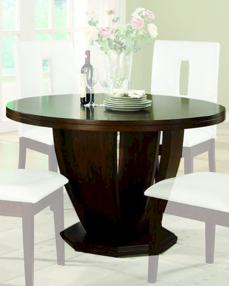 Dining Round Table Elmhurst By Homelegance EL 1410 48