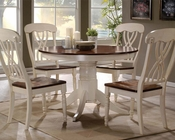 Dining Set in Buttermilk/ Oak Dylan by Acme AC70330