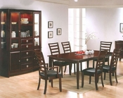 Dining Set in Merlot Finish AN-5550