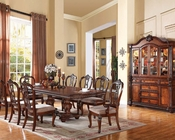 Dining Set in Tobacco Nathaneal by Acme Furniture AC62310SET