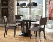 Dining Set w/ Lazy Susan Table Lobelia by Homelegance EL-2578-SET