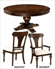 Dining Set w/ Round Table Charleston Place by Hekman HE-942703CP-SET