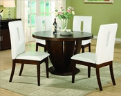 Dining Set w/ Round Table Elmhurst by Homelegance EL-1410-48-SET