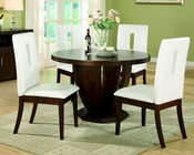 *Dining Set w/ Round Table Elmhurst by Homelegance EL-1410-48-SET