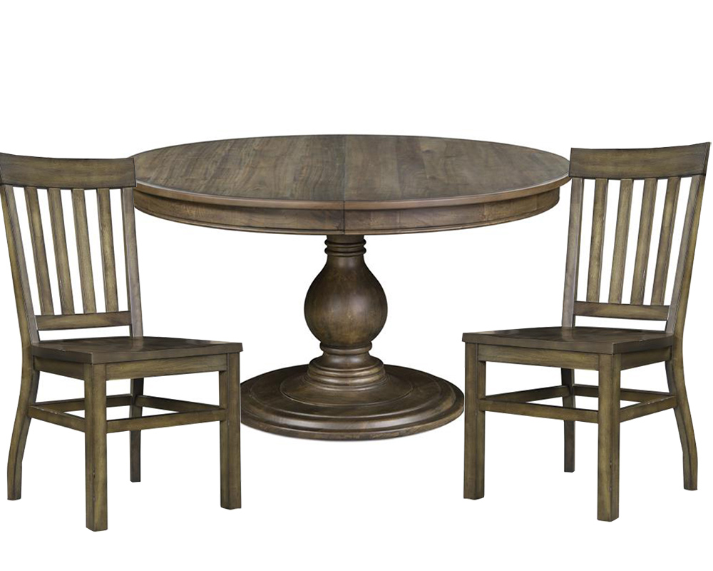 Dining Set With Round Table Karlin By Magnussen Mg D2471 22set