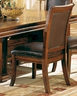 Dining Side Chair in Tobacco Cherry CO-3636 (Set of 2)