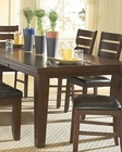Dining Table Ameillia in Dark Oak EL-586-82