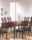 Dining Table in Merlot Finish AN-5550DT