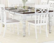Dining Table Sanibel by Homelegance EL-2119W-78
