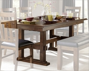 Dining Table w/ Butterfly Leaf Kirtland by Homelegance EL-1399-90
