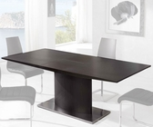 Dining Table w/ Extension in Wengue Finish 33D402