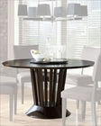 Dining Table w/ Lazy Susan Lobelia by Homelegance EL-2579