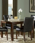 Dining Table w/Marble Top Achillea EL-3273-48